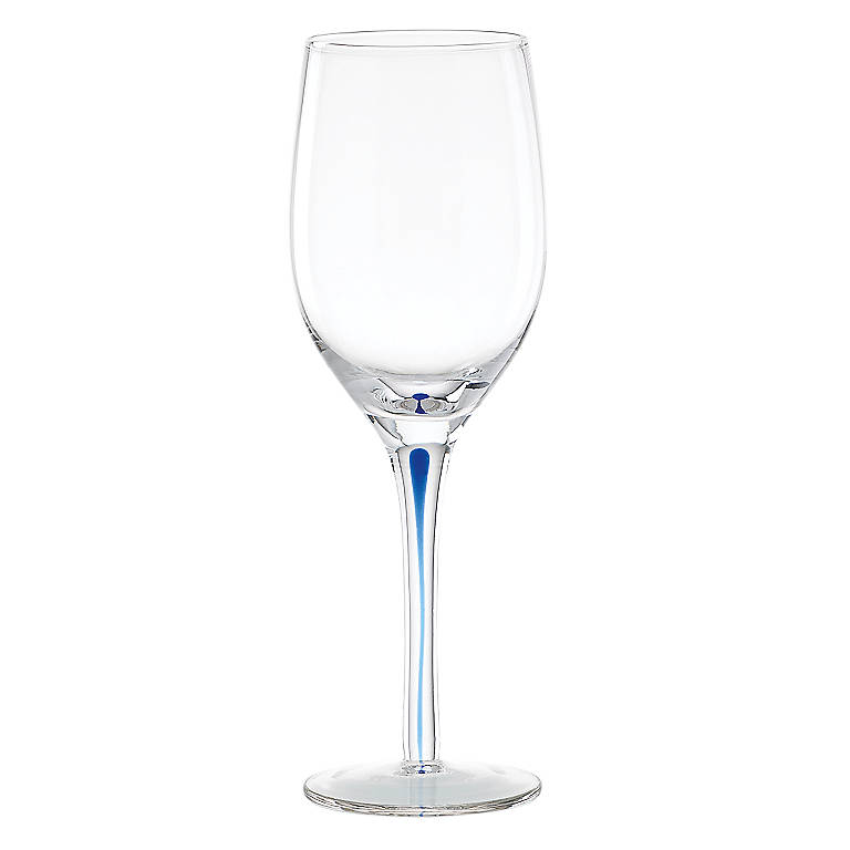Crystal perfect hue blue wine glass dinnerware tableware glasses and mugs by lenox - Lenox colored wine glasses ...