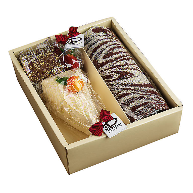 Le Patissier Towel Cake Gift Set, Bathroom Towels by Lenox