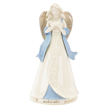 Faith Makes All Things Possible Angel Figurine by Lenox