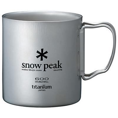 Snow Peak Titanium Double Wall 600 Mug