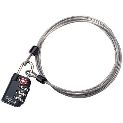 Eagle Creek TSA 3-Dial Lock and Cable