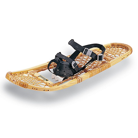 photo: Tubbs Bear Paw wooden snowshoe