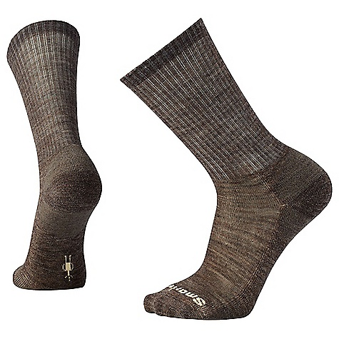 Smartwool Men's Heathered Rib Sock Taupe