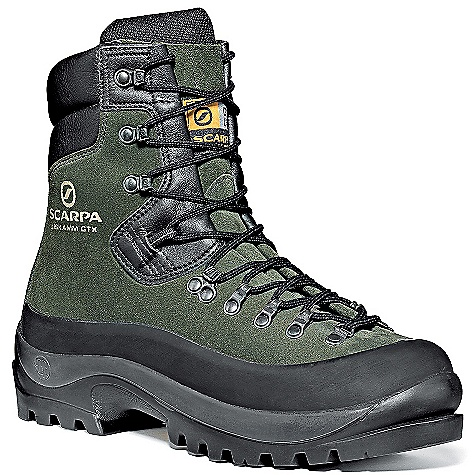 photo: Scarpa Liskamm GTX mountaineering boot