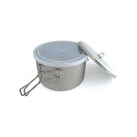 photo: Snow Peak Titanium Cook & Save pot/pan