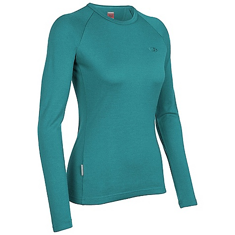photo: Icebreaker Women's 260 Midweight LS Crewe base layer top