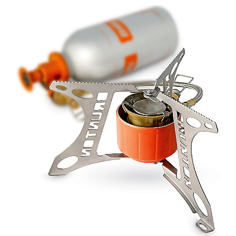 photo: Brunton Vapor AF multi-fuel stove