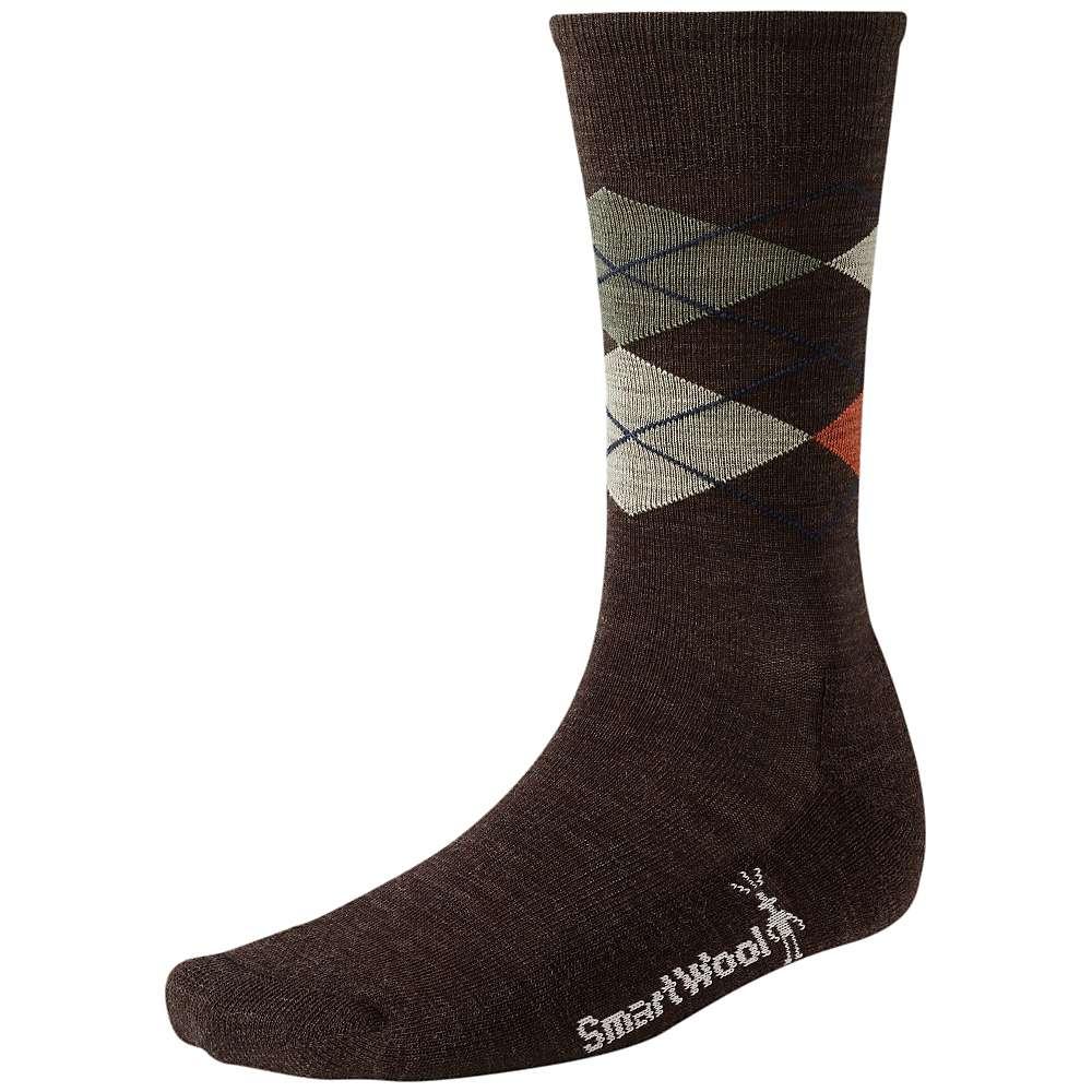 Smartwool Men's Diamond Jim Sock - Large - Chestnut Heather