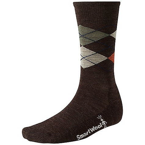Smartwool Men's Diamond Jim Sock Chestnut Heather