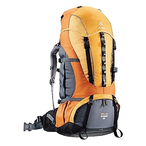photo: Deuter Aircontact 50+10 SL weekend pack (3,000 - 4,499 cu in)