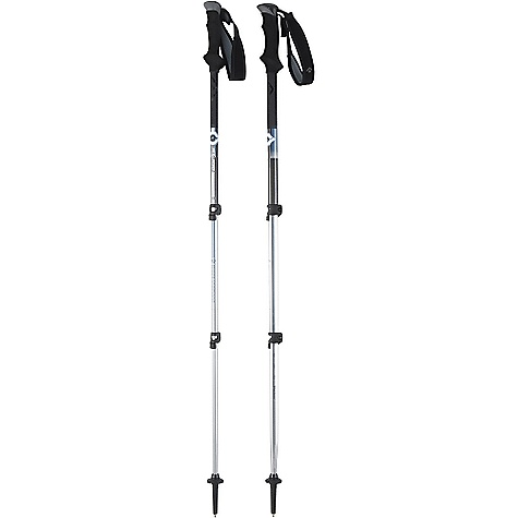 Black Diamond Contour Elliptic Carbon Trekking and Snowshoe Pole Spring 2008