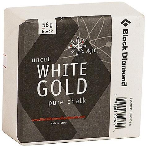 photo: Black Diamond White Gold Chalk Block