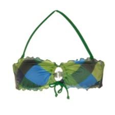 Swimwear - Billabong Women's Back To School Plaid Bandea Top