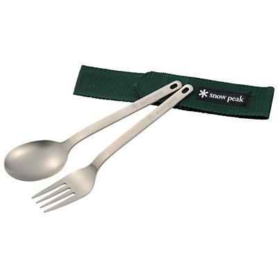 Snow Peak Titanium Fork and Spoon