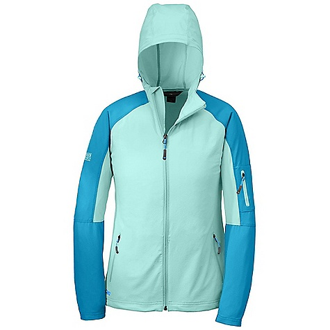 photo: Outdoor Research Women's Ferrosi Hoody soft shell jacket