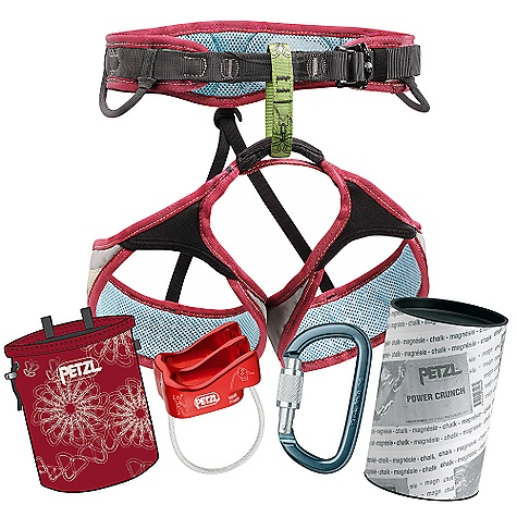 photo: Petzl Selena Climbing Kit climbing product