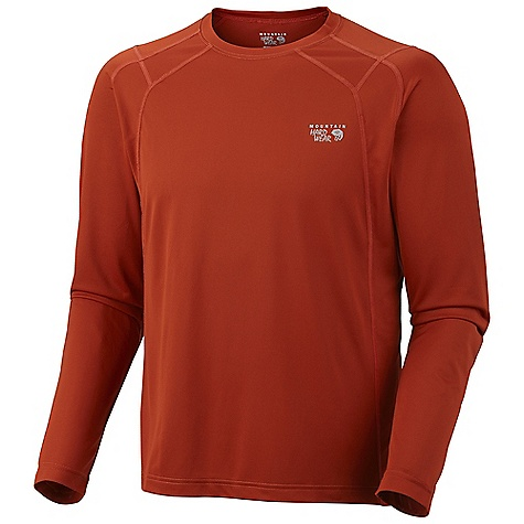 photo: Mountain Hardwear Men's Double Wicked Lite Long Sleeve T