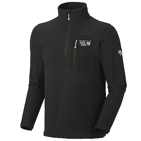 photo: Mountain Hardwear Men's Micro Grid Zip T fleece jacket