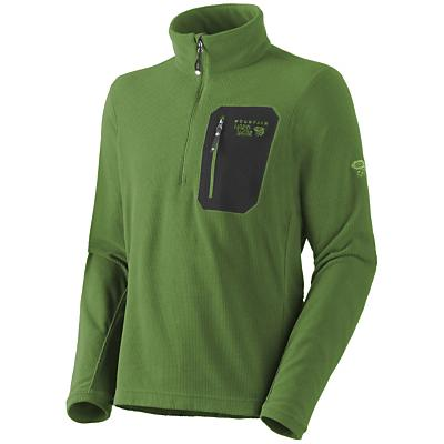 Mountain Hardwear Men's Micro Grid Zip T Shirt