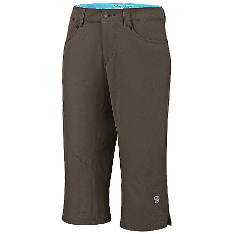 photo: Mountain Hardwear La Strada Pedal Pusher hiking pant