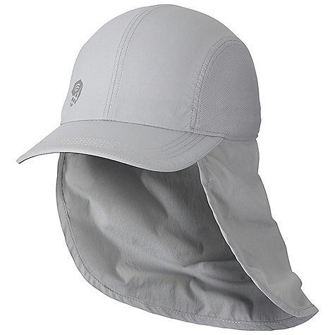 photo: Mountain Hardwear Ravi Flap Cap sun hat