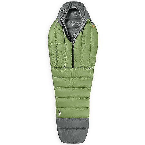 photo: GoLite Men's Adrenaline 1+ Season Mummy warm weather down sleeping bag