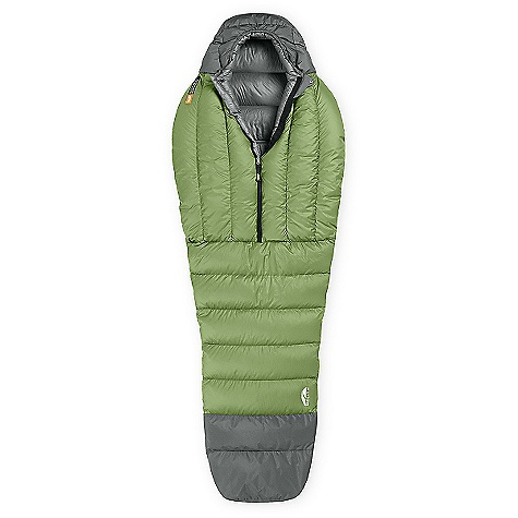 photo: GoLite Women's Adrenaline 1+ Season Mummy warm weather down sleeping bag