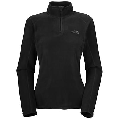 The North Face Women's TKA 100 Microvelour Glacier 1/4 Zip