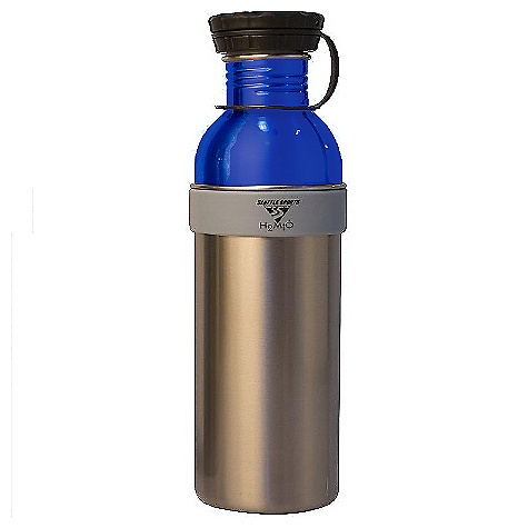 photo: Seattle Sports H2Duo Two-Part Stainless Bottle