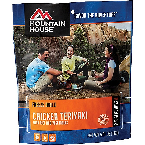 photo: Mountain House Chicken Teriyaki with Rice meat entrée