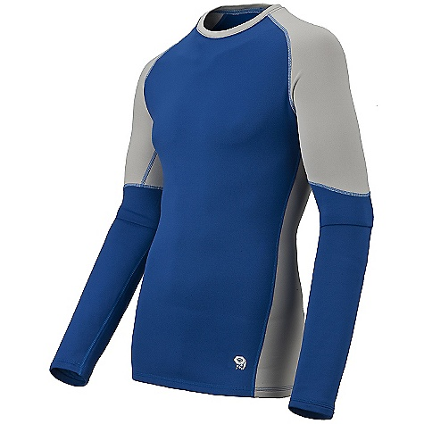 photo: Mountain Hardwear Men's Micro Power Stretch Long Sleeve Crew base layer top