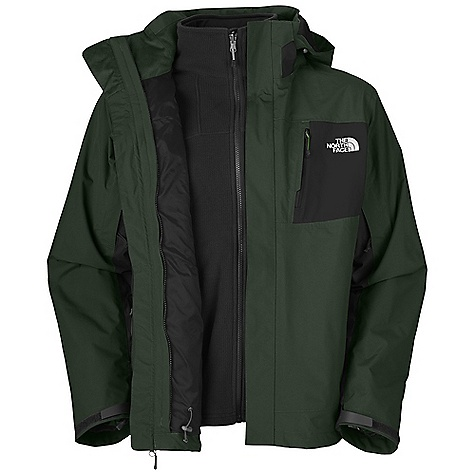 photo: The North Face Libre TriClimate Jacket component (3-in-1) jacket
