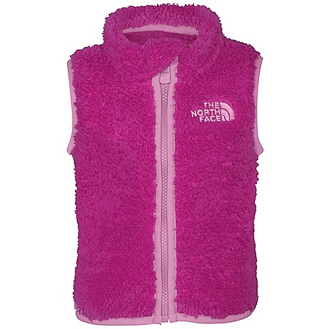 photo: The North Face Kids' Plushee Vest fleece vest
