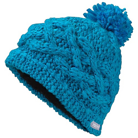 photo: Marmot Women's Chunky Pom Hat winter hat