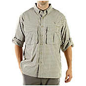 Ex Officio Men's Air Strip Micro Plaid LS Woven