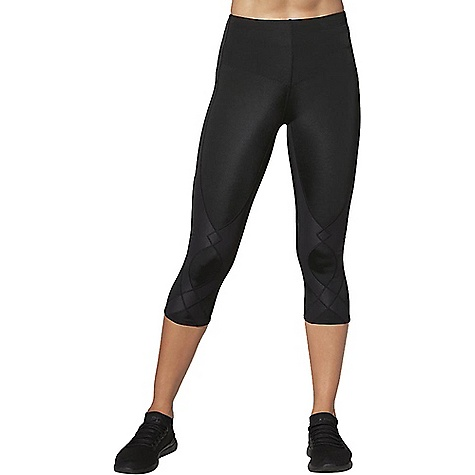 Cw X Women's 3/4 Stabilyx Tights Black