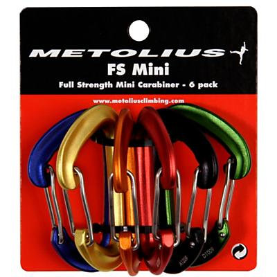 Metolius FS Mini Carabiner Jet Set 6pk