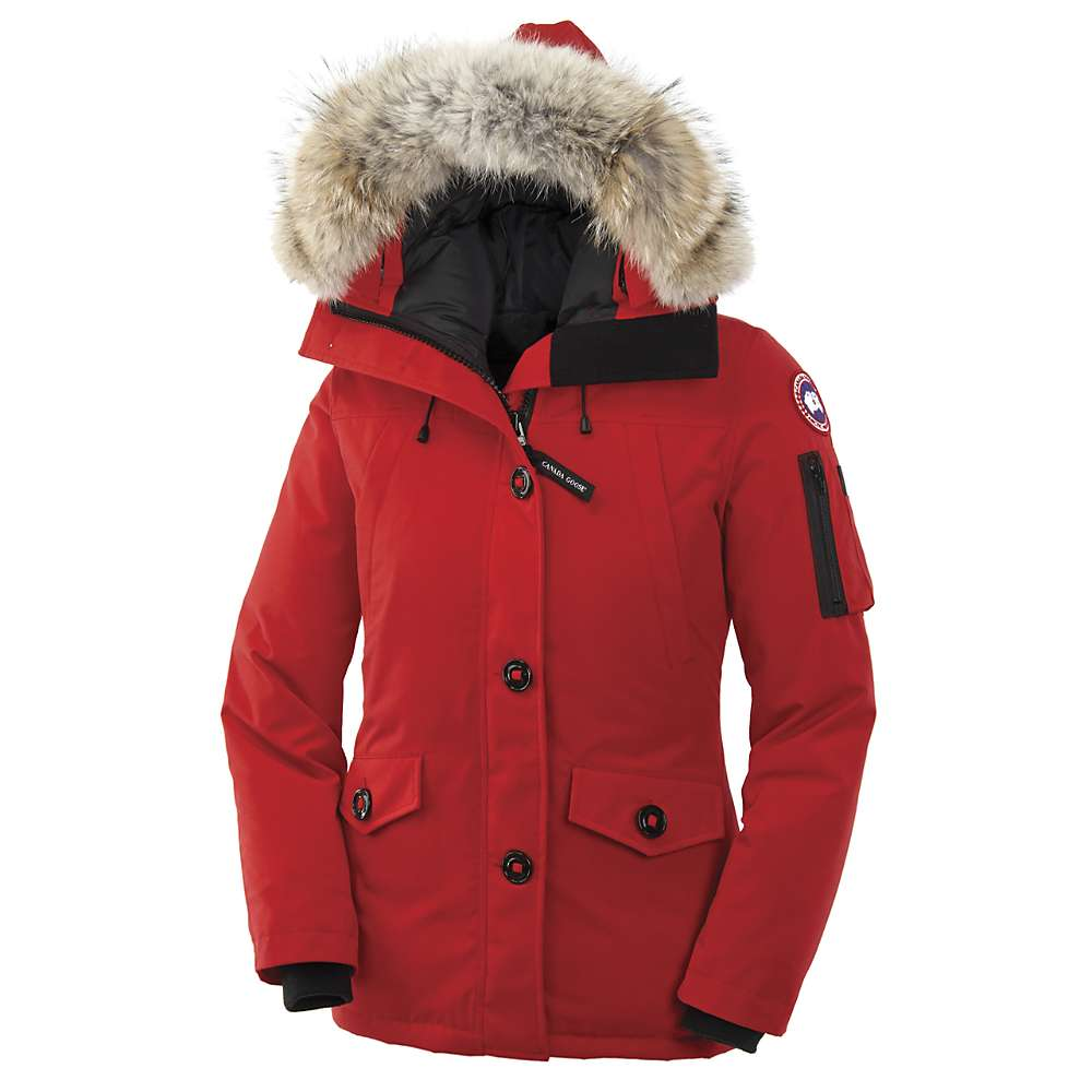 Canada Goose Women's Montebello Parka - Medium - Red