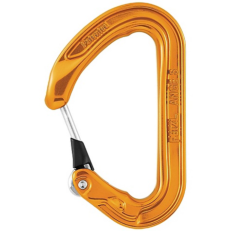photo: Petzl Ange S non-locking carabiner