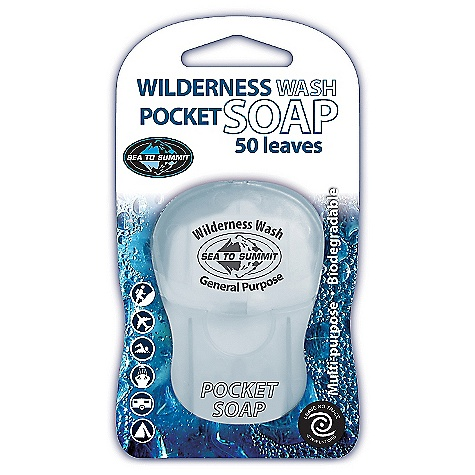 photo: Sea to Summit Wilderness Wash Pocket Soap soap/cleanser