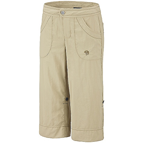 photo: Mountain Hardwear Desria Capri hiking pant