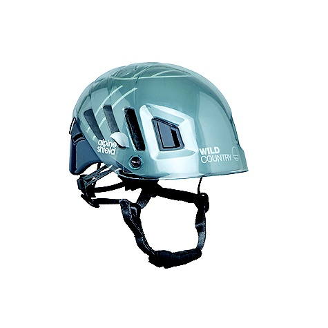 photo: Wild Country Alpine Shield climbing helmet
