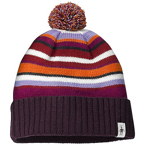 photo: Smartwool Women's Latte Stripe Hat winter hat