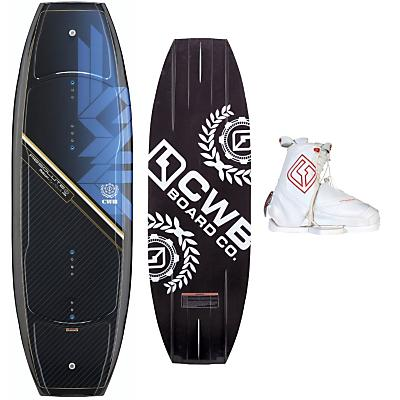 CWB Absolute Platinum Wakeboard 141 w/ Zeus Bindings - Men's