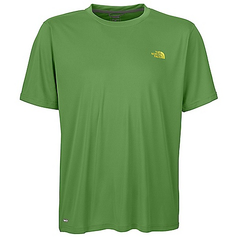 photo: The North Face Men's Velocitee Crew short sleeve performance top