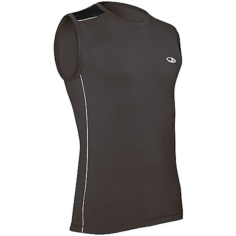 photo: Icebreaker Ace Sleeveless Tee short sleeve performance top