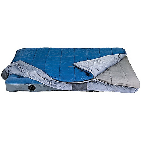 photo: Kelty Satellite 30 Double 3-season synthetic sleeping bag
