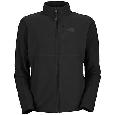 The North Face Men's TKA 100 Texture Cap Rock Full Zip Jacket