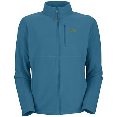 The North Face Men's TKA 100 Texture Cap Rock Full Zip Jacket