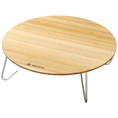 Snow Peak Single Action Round Low Table